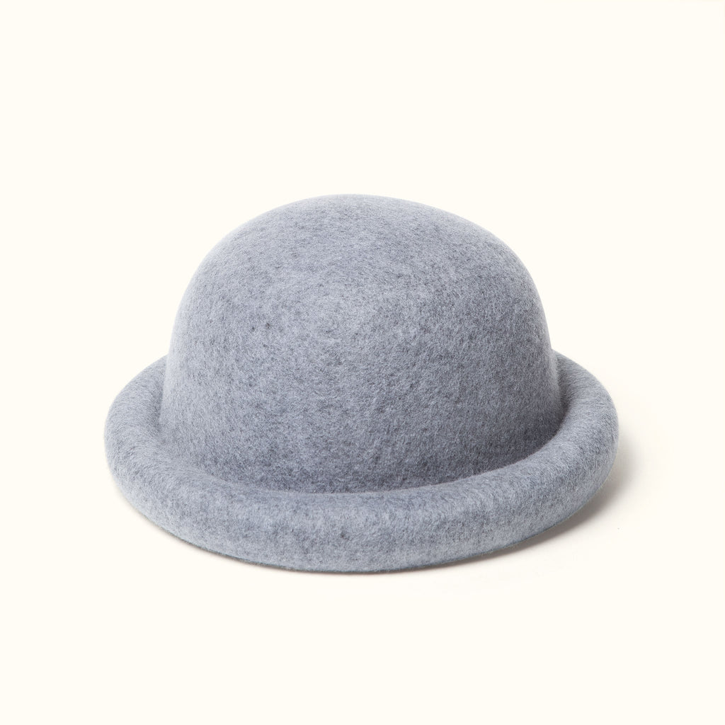 Wool Bell Hat Gray