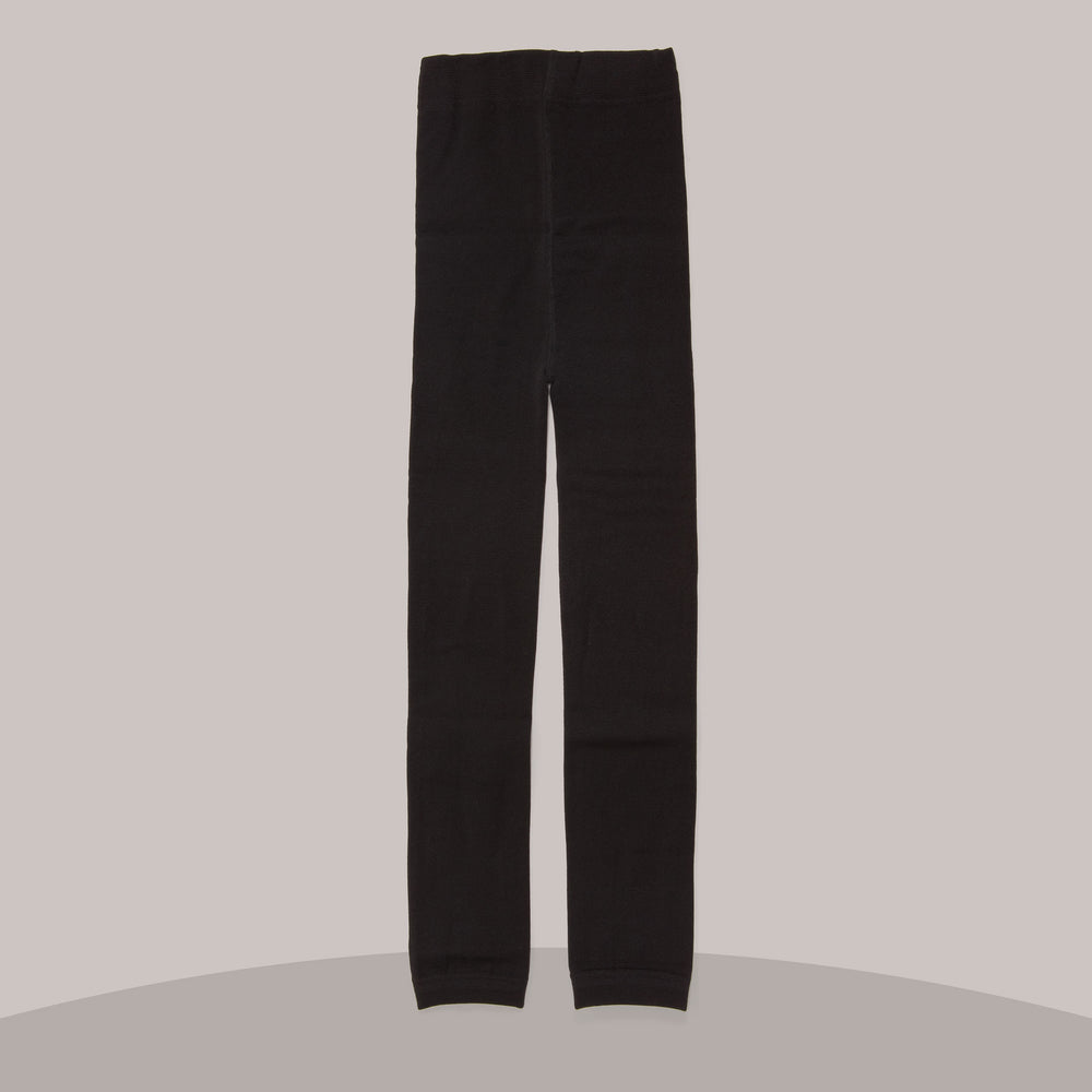 Fleece-lined Leggings (Black)