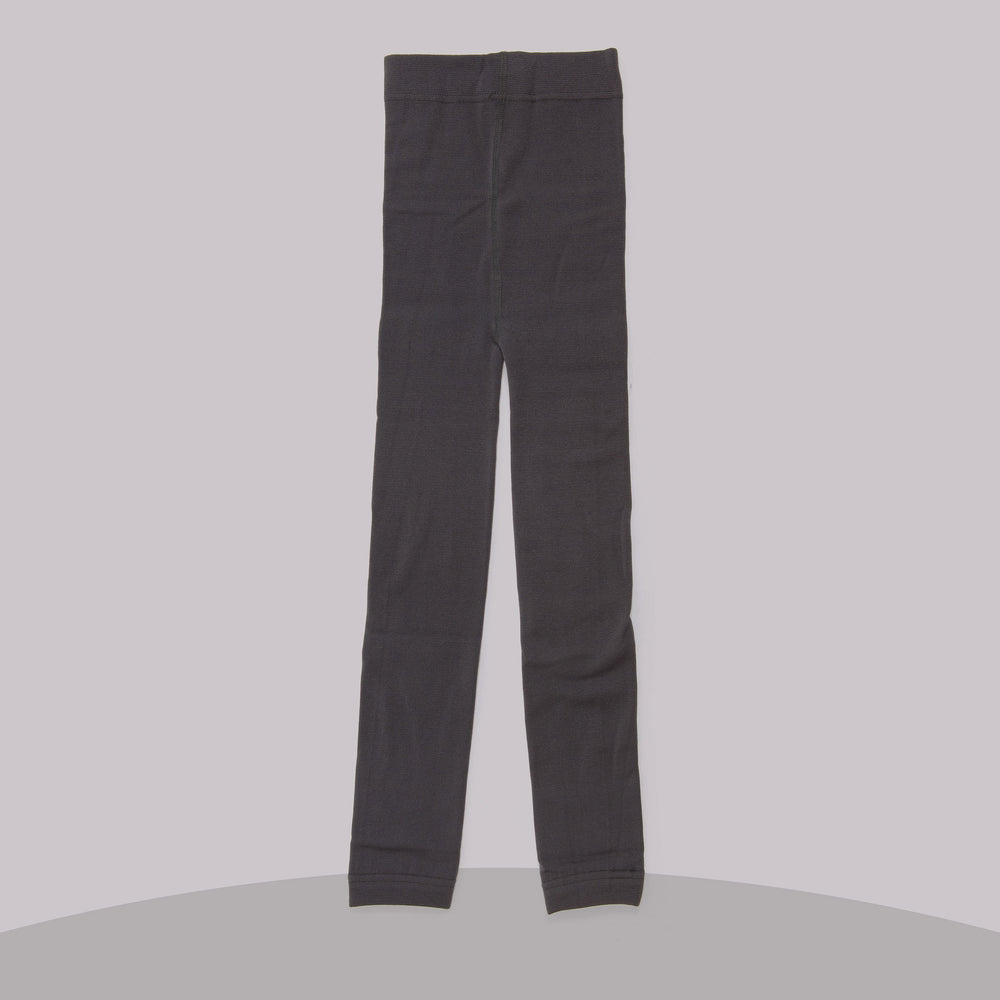 Fleece-lined Leggings (Dark Gray)