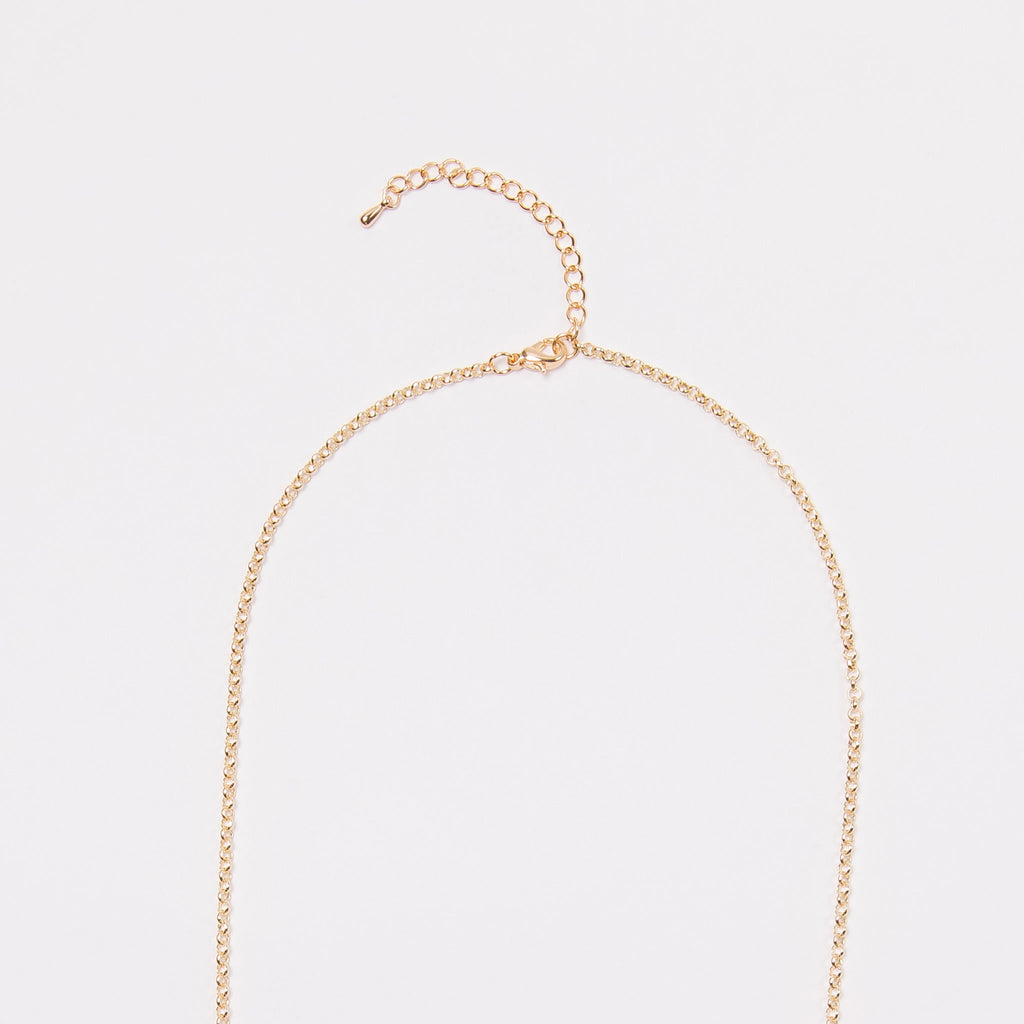 Leaflets Necklace (Gold)