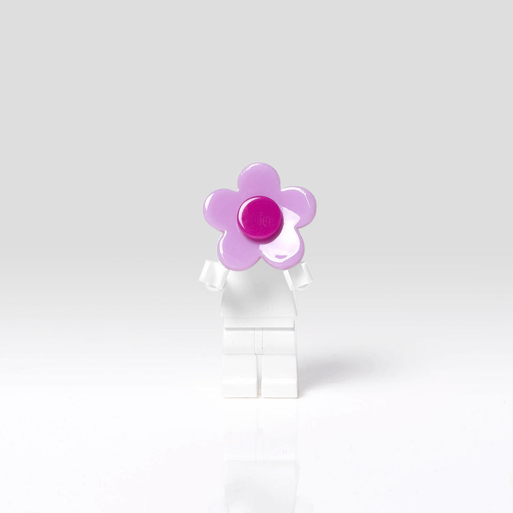 Lilies and Roses Ring for Girls Flower Pink and Purple Front