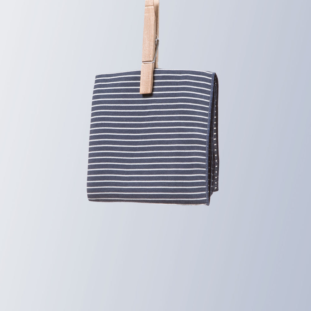 Neckerchief (Stripe | Marine Navy)