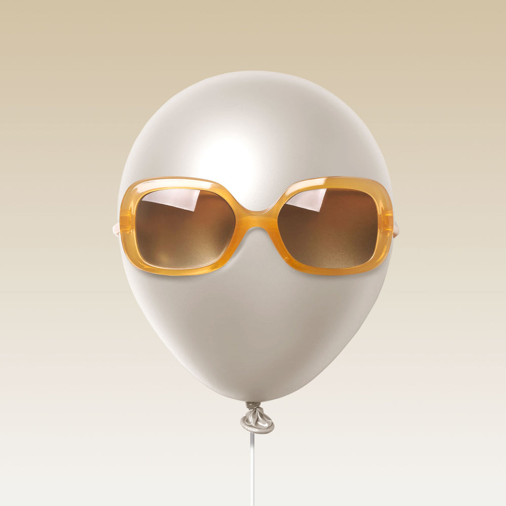 Paxley Sunglasses for Kids Larchmont Amber 0-5 Balloon