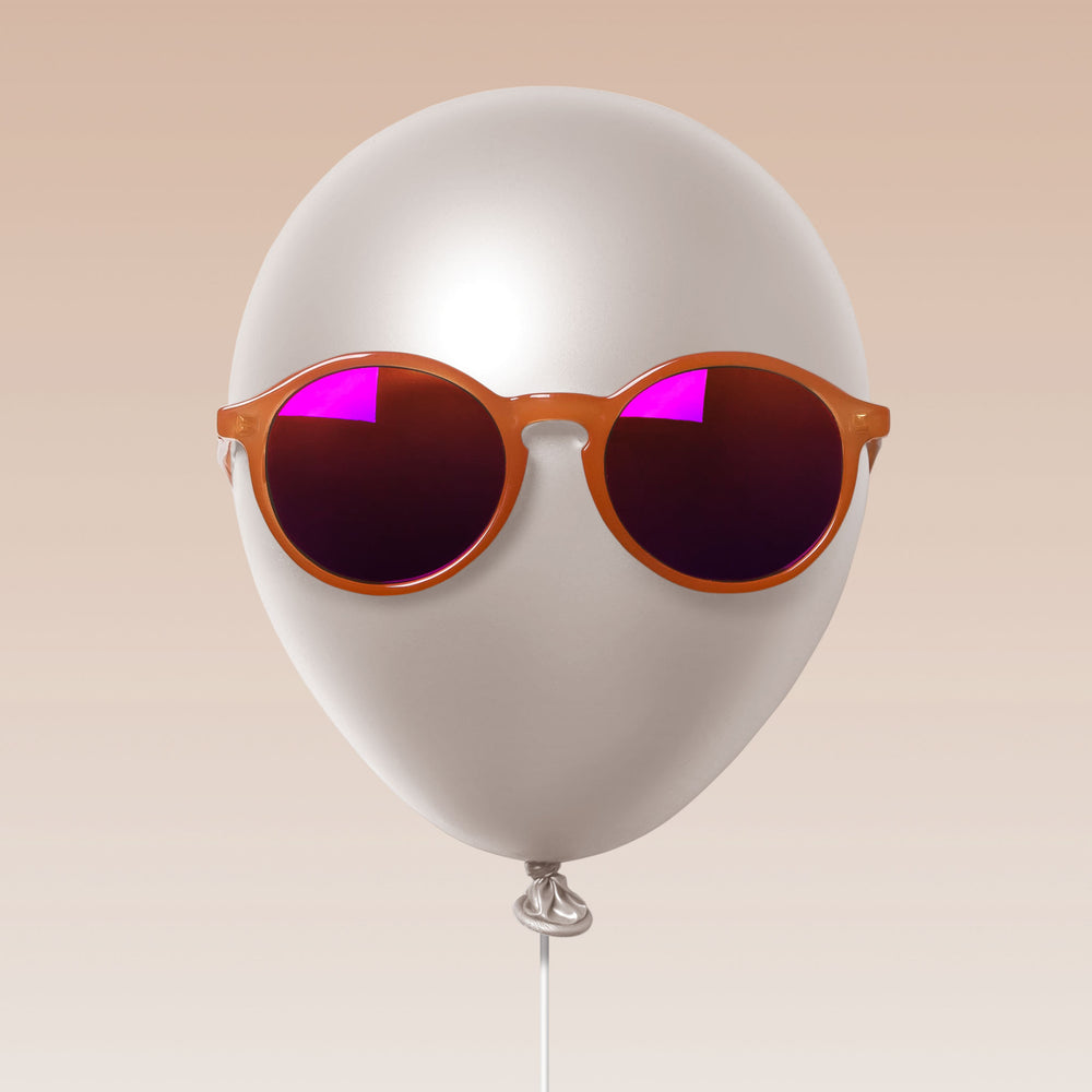 Paxley Sunglasses for Kids Milan Tangerine 6-10 Balloon