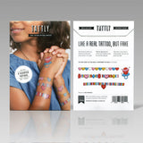 Tattly Scented Arm Candy Temporary Tattoos