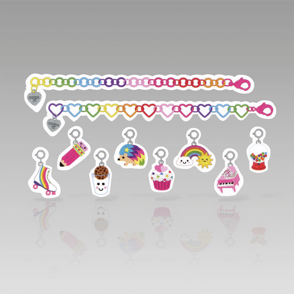 Tattly Flash Tattoo Rainbow Charm Party
