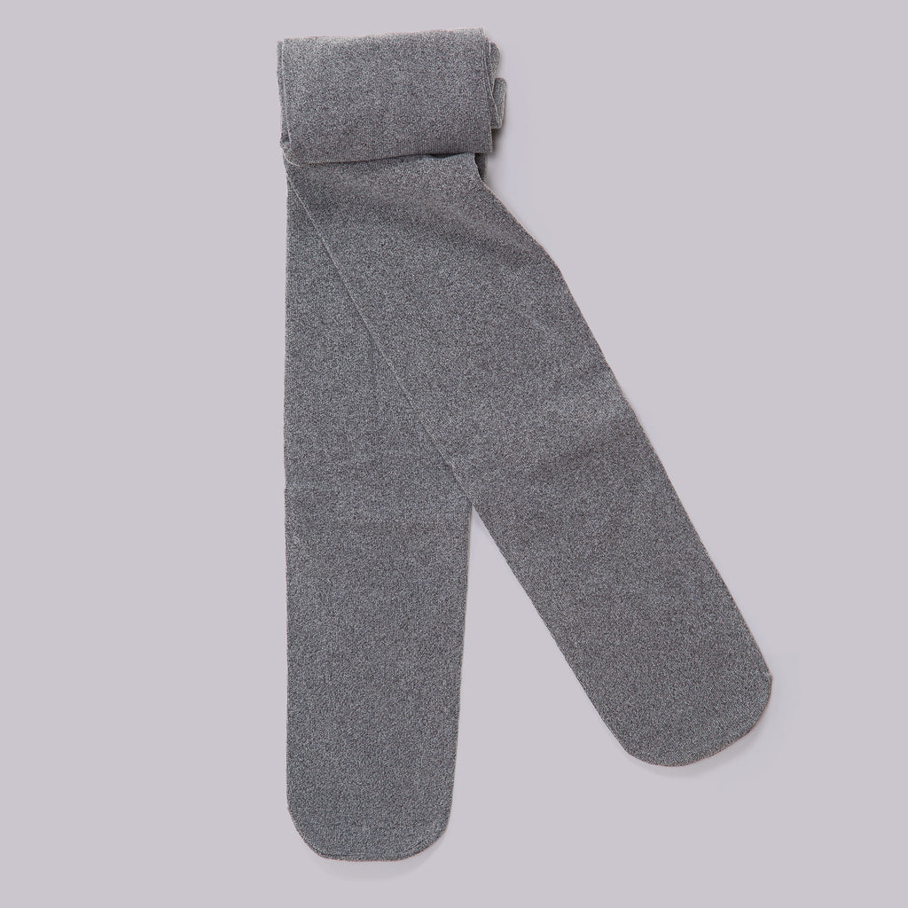 Soft Cotton Tights (Charcoal)
