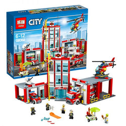 King 82038 Fire Station (Previously known as Lepin 02052)