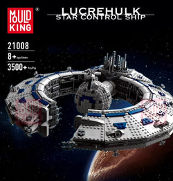 Mould King 21008 Star Wars Lucrehulk-Class Battleship (Droid Control Ship)