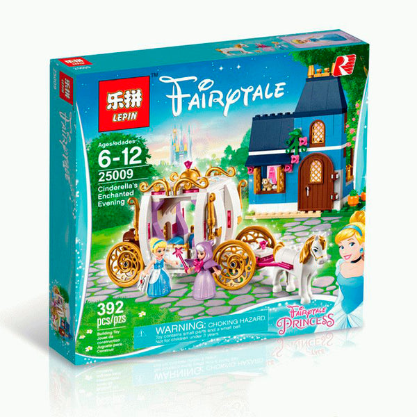 King 85007 Cinderella's Enchanted Evening  (Previously known as Lepin 25009)