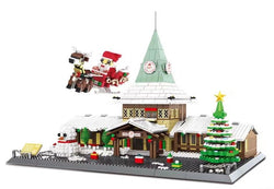 WANGE 6218 Santa Claus Office