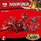 King 89064 Ninjago Firstbourne (Previously known as Lepin 06081)