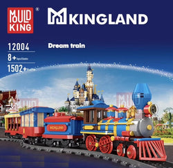 Mould King 12004 Winter Holiday Dream Train