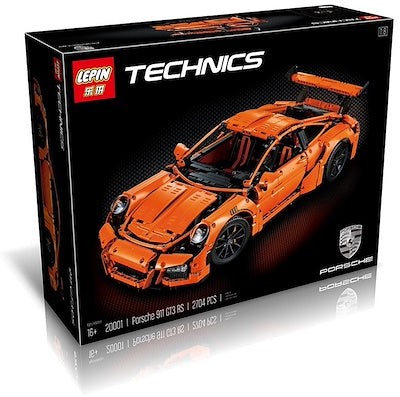 King 90001 Technic Porsche 911 GT3 (Previously known as Lepin 20001)