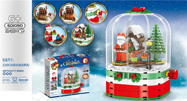 Sembo Block Christmas Set (3 Sets in 1)