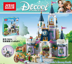Decool 70224 Cinderella's Dream Castle (Previously known as Lepin 25014)