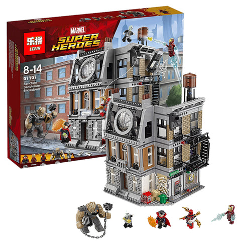 King 87068 Avengers Sanctum Sanctorum Showdown (Previously known as Lepin 07107)