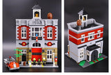 King 84004 Modular Fire Brigade (Previously known as Lepin 15004)
