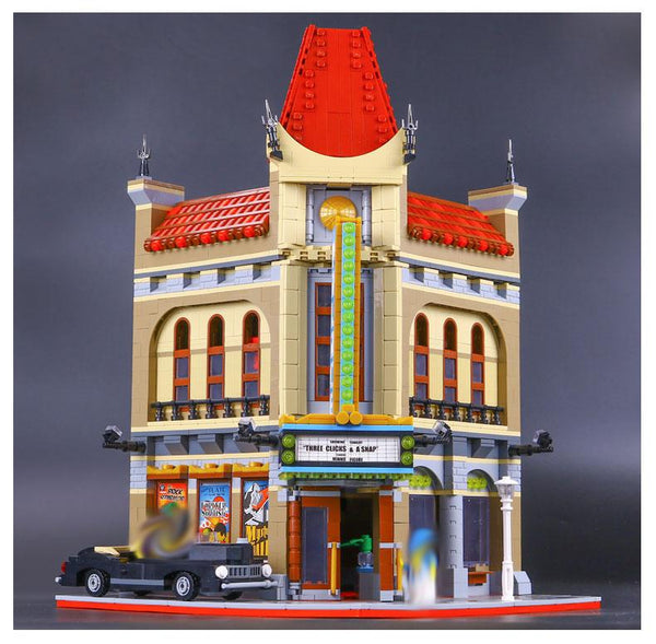 PRE-ORDER: King 84006 Modular Palace Cinema (Previously known as Lepin 15006)
