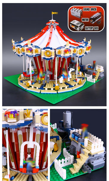 Lepin 15013A Modular Grand Carousel (Motorized)