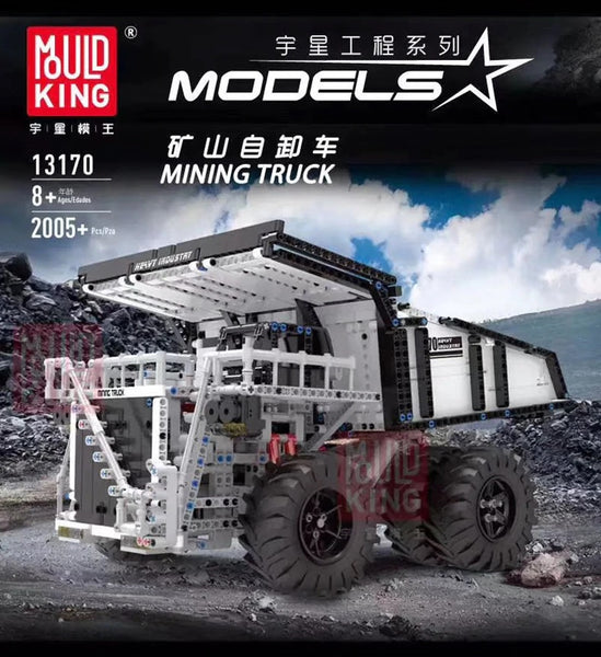 Mould King 13170 Technic Mining Truck