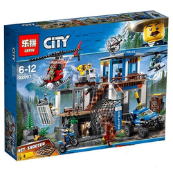 King 82071 Mountain Police Headquarters (Previously known as Lepin 02097)