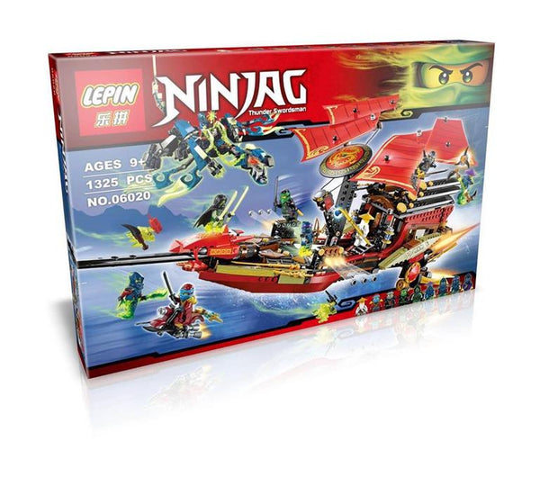 King 89008 Ninjago Final Flight of Destiny's Bounty (Previously known as Lepin 06020)