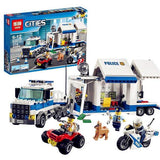 King 82013 Police Mobile Command Center (Previously known as Lepin 02017)
