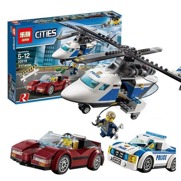 King 82014 High-speed Chase (Previously known as Lepin 02018)