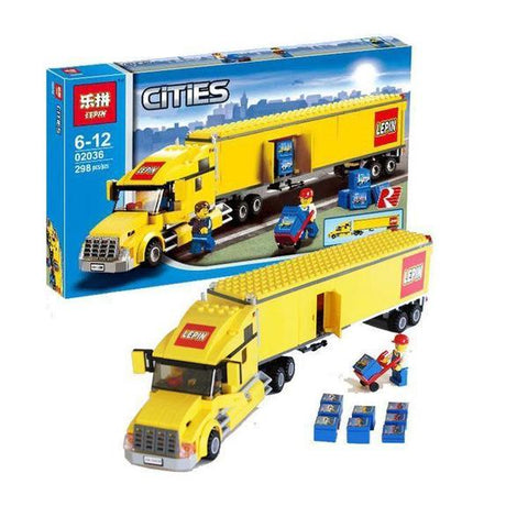 King 82026 City Truck (Previously known as Lepin 02036)