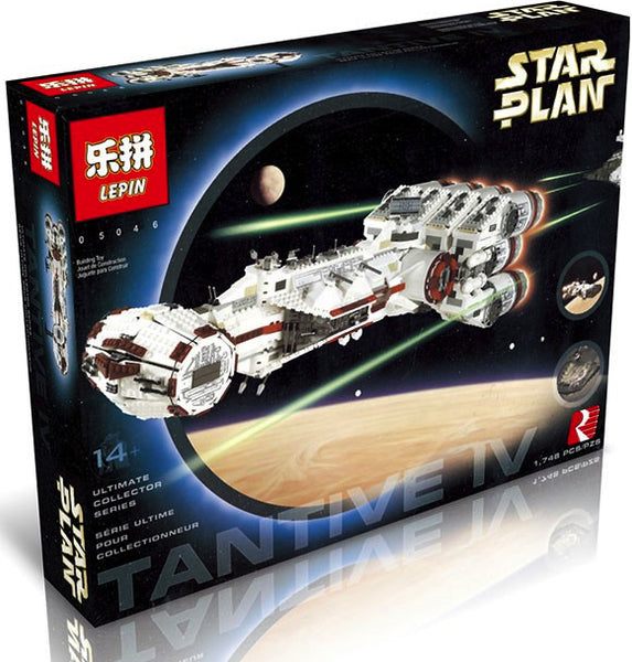 King 81048 Star Wars UCS Rebel Blockade Runner (Previously known as Lepin 05046)
