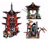 King 89009 Ninjago Temple of Airjitzu (Previously known as Lepin 06022)