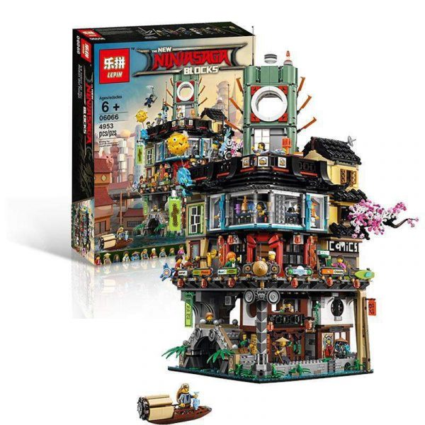 King 89049 Ninjago City (Previously known as Lepin 06066)