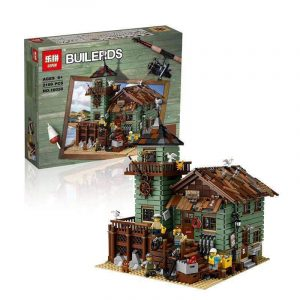 King 83028 Old Fisherman's Hut (Previously known as Lepin 16050)