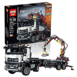 PRE-ORDER: King 90005 Mercedes-Benz Arocs (Previously known as Lepin 20005)