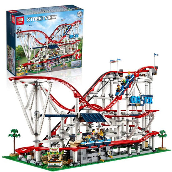 King 84028 Roller Coaster (Previously known as Lepin 15039)