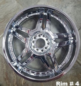 "20"" Bonetti Rims Brand New"