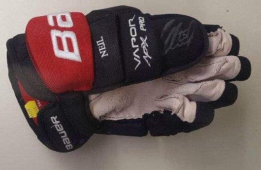 Autographed Chris Neil Game Worn Hockey Glove