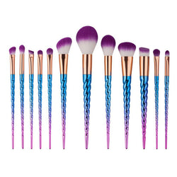 Rainbow Unicorn Brushes - 12 piece Set