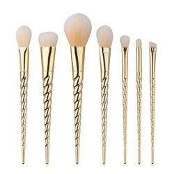 Gold Unicorn Brushes - 7 piece Set