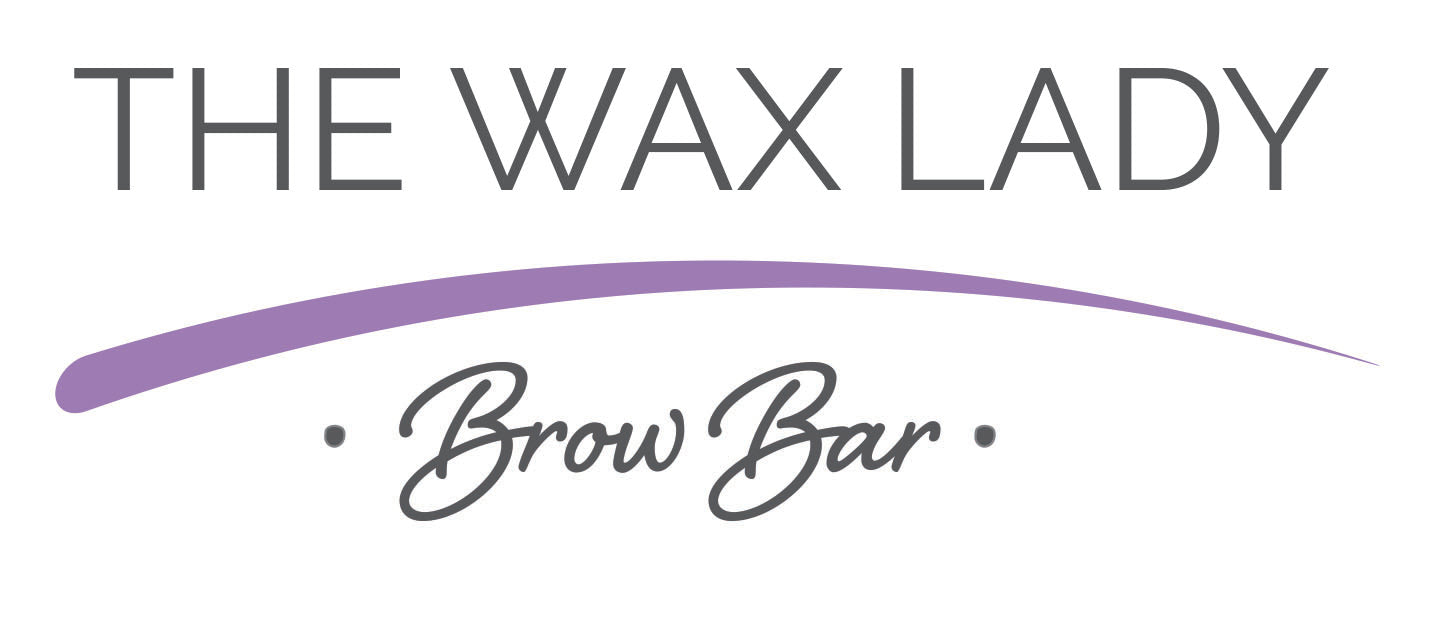 the wax lady logo, the wax lady, eyebrows, brazilian wax, red carpet brows