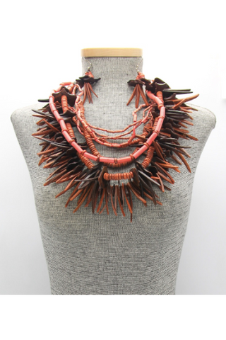 Statement Multi-strand Necklace Set