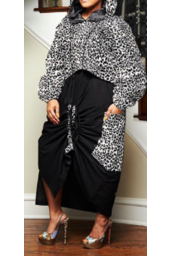 Big side Pocket Skirt