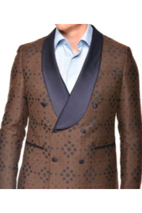 Steven Land Double Breasted Blazer