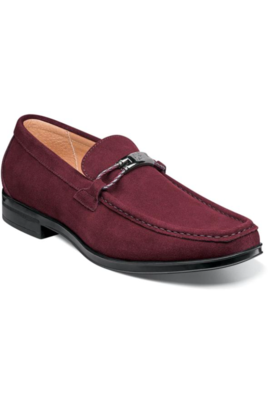Stacy Adams NEVILLE Moc Toe Bit Slip On Shoes