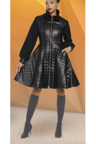 Preorder Love The Queen Quilted Coat