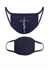 Navy Faith Mask