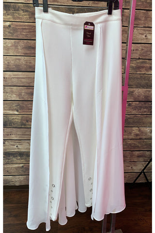 Overlay Grommet Pants with skirt - Slash/Tags Consignment Boutique