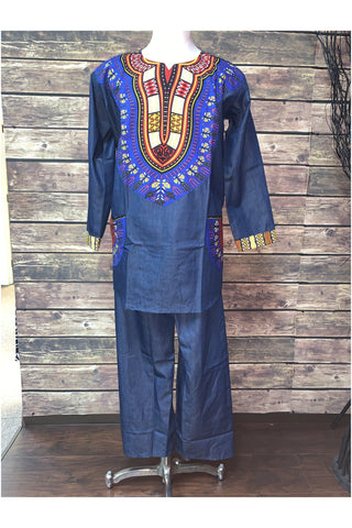Men's Denim Set - Slash/Tags Consignment Boutique