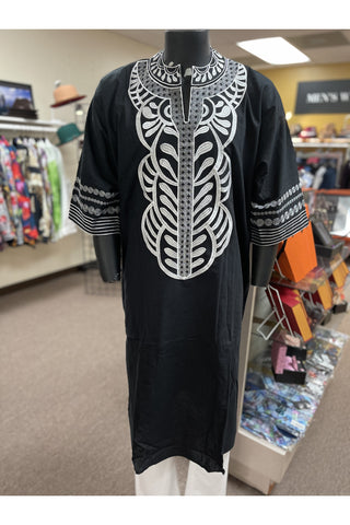 Men's African Print Long Dashiki
